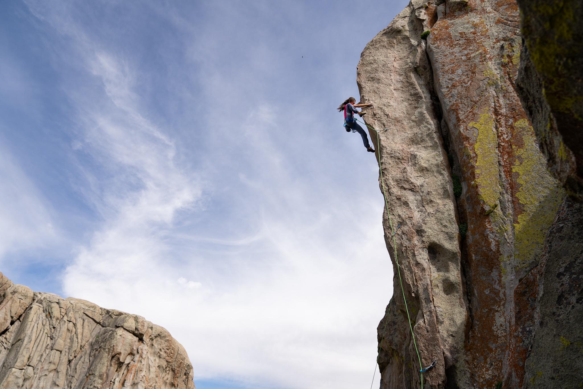 Rock Climbing City of Rocks Idaho