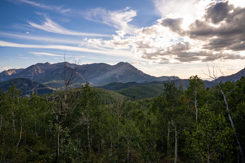Landscape of Mt. Timpanogos, Utah